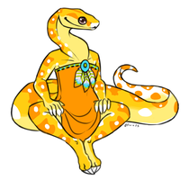 Baby Snake by FerianMoon