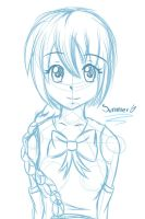 Sketch comission: Kelly by Sumy-Chan