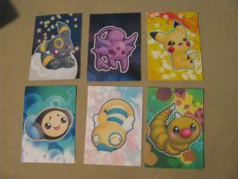 Animazement: Pokemon trading cards by CursedFire