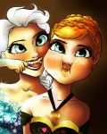 Elsa And Anna by spockward