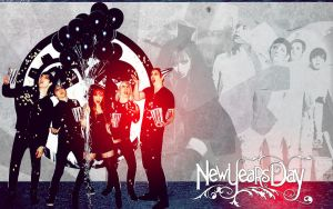 New Years Day Wallpaper by LelloGneh