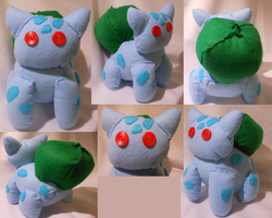 Bulbasaur Plush ~Sold~ by FuzzyAliens