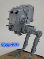 Bandai AT-ST06 by celsoryuji