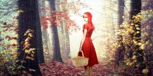 Taylor Swift has Little Red Riding Hood by BELLDAMN
