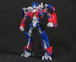 The ultimate pipe cleaner Optimus Prime by yantra3d
