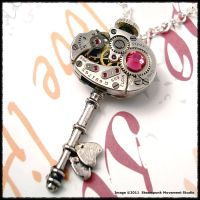 Steampunk Key of Hearts 011 by SoulCatcher06