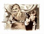 Han and Chewy by BenCurtis