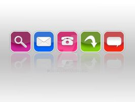 My Web 2.0 Icons by fjarla