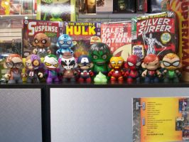 Munny Madness by KidNotorious