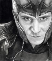 LOKI (Tom Hiddleston) by MLS-art