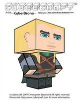 Cubeecraft - Legolas by CyberDrone