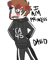 I AM PRINCESS DAVID by Star-Filled-Syringes