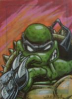 Slash sketch card by JLWarner