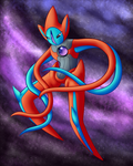 Deoxys by Tooncrab