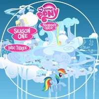 Friendship is Magic S1 Disc 3 Version 2 DVD Label by Loaded--Dice