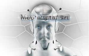 Wallpaper Robot HD By Meo by cooliographistyle