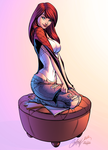 Mary Jane Watson by J-Skipper