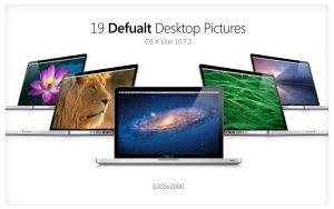 Default Desktop Pictures OS X Lion 10.7.2 by popwargodfather