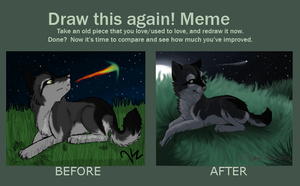 Draw This Again: Shooting Star. by NightCreeps