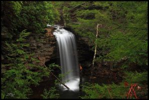 Upper Falls 1 by TerryTee