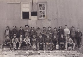 Antique Coal Miners by OneSmallSquare