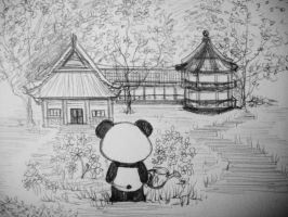 Panda's Story p.1 by MelodicInterval