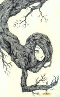 Tree Girl by may-cat