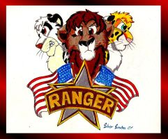 Big Cats Ranger for USA by SilverSimba01