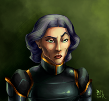 LoK Badge Series: Lin Beifong by May-Romance
