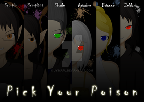 P R I N T S E T -| Pick Your Poison |- by Jymaru