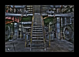 Factory Stairs by 2510620
