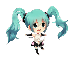 Miku Chibi Append by Tuliblu