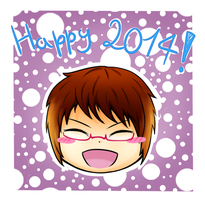 Welcome 2014 ~ !!! by IperGiratina98