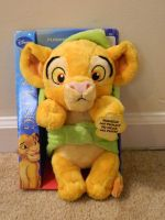 Purring Baby Simba Plush by AlixRae