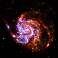 The Pinwheel Galaxy by MistrzFilut