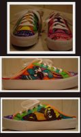 Regular Show Shoe by SharpieSam