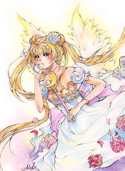 Sailor Moon - Princess Serenity by Princess--Ailish