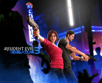 Resident Evil Revelations 3 - Infected Night Club by FearEffectInferno