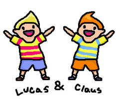 Lucas and Claus by Artist-Who-Draws