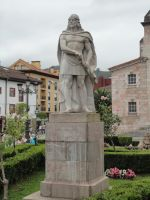 Don Pelayo In Cangas by Dhencod