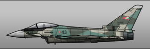 Hungarian Eurofighter by Jetfreak-7