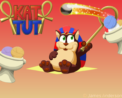 Peggle - Kat Tut Wallpaper by Waroh