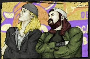Jay And Silent Bob...Again by LuBobIII