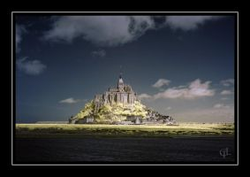 Mont St. Michel by melintir