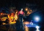 On the street - Resident Evil 6 by UchihaSayaka
