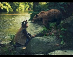 The bear and the bear by AlexandraSophie