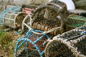 Lobster pots by RhynWilliams