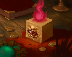 The Cube King by guillegarcia