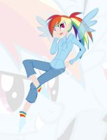 Rainbowdash by RaineKitty
