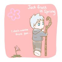 Jack Frost in Spring by MugenMusouka